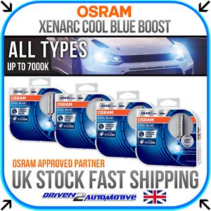 osram xenarc cool blue boost 7000k hid xenon upgrade bulbs d1s d2s d3s d4s ebay. Black Bedroom Furniture Sets. Home Design Ideas