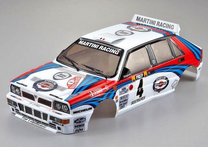 1/10 Rc Auto Carrozzeria Lancia Delta HF Integrale Martini Racing 190mm Finito