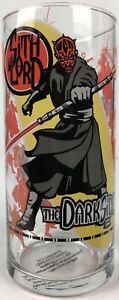 Star-Wars-Episode-I-Darth-Maul-Sith-Lord-Dark-Side-1999-5-5-034-Drinking-Glass-New