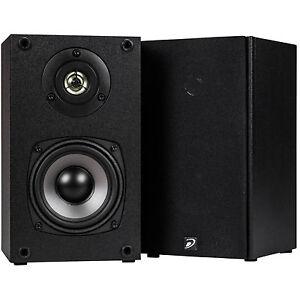 Dayton-Audio-B452-4-1-2-034-2-Way-Regal-Lautsprecher-Paar