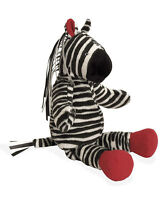 North American Bear Co Company Stuffed Plush Tickly Toy Zebra Ribbon Mane Tail