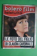 BOLERO FILM 1043/1967 CLAUDIA CARDINALE DALIDA LIZ TAYLOR MIREILLE MATHIEU