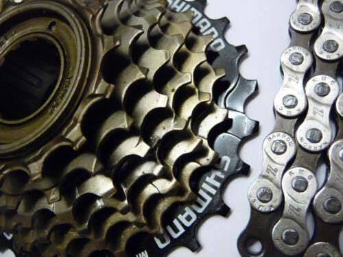 KMC Z51 Chain /& Freewheel or Cassette 6 7 8 Speed Bike Bicycle MTB Road Hybrid