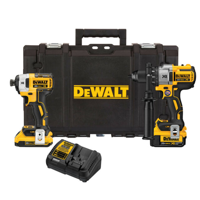 fde42bf4ae9 DEWALT 20V MAX XR Drill Driver and Impact Driver Combo Kit DCKTS291D1M1R  Recon