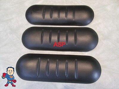 3X Spa Hot Tub Neck Pillow Keys Backyard Black Ribbed 3 ...