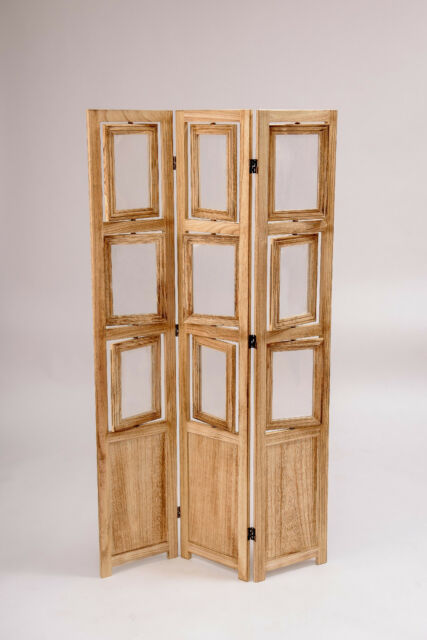 Room Dividers With Picture Frames Photo Privacy Floor Screen Divider For Rooms Natural