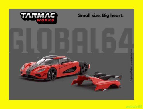 APR 2020 Tarmac Works GLOBAL64 1//64 Koenigsegg Agera RS