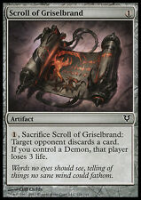 MTG SCROLL OF GRISELBRAND FOIL - PERGAMENA DI GRISELBRAND - AVR - MAGIC