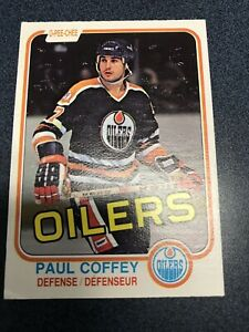 1981-82-O-Pee-Chee-Paul-Coffey-Rookie-Card-111-Mint-Perfectly-centered-Opc