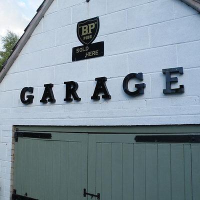 GARAGE sign garage cast sign LARGE aluminium garage mancave shed workshop VAC140