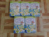 Hawaiian Punch Lemon Lime Splash 5 Boxes 40 Singles To Go Packets Sugar Free