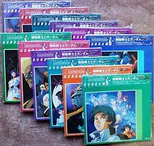 Complete 13x Laserdisc Mobile Suit Zeta Gundam Vol. 1-12 Japan 機動戦士Zガンダム Z