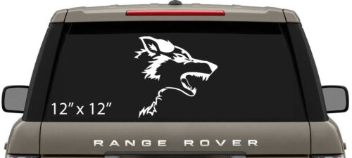 Laptop Decal Beast G.O.T Small or Large Wolf Vinyl Sticker//Decal Car Window