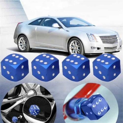 Sieve Gas Dice Valve Cap Tire Caps Supplies Color Cover 4Pcs//Set Car Exterior