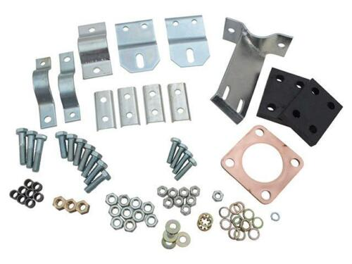 "Land Rover Series 3 88/"" SWB Full Exhaust Fitting Kit Mounting Brackets 239717"
