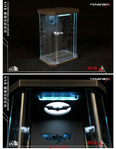 Toys-Box 1//12 Scale Comicave SHF Armoury Display Box Cable Model F Batman Figure