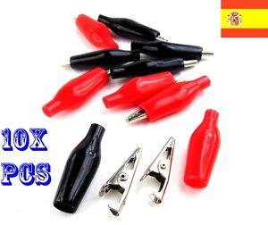 10x-Pinzas-de-Cocodrilo-Aisladas-Soldables-35mm-93
