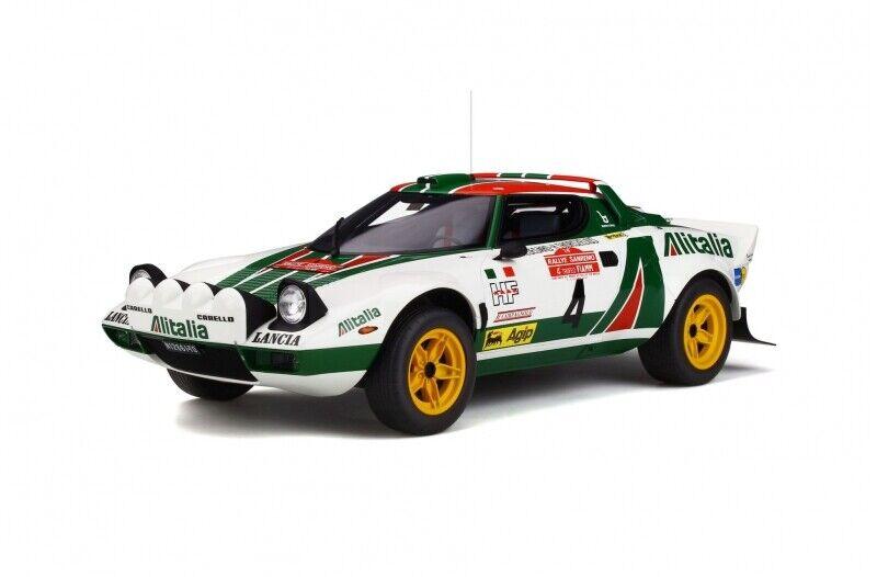 Lancia Stratos taille 4 Rallye San Remo  NOUVEAU  Otto g037  1 12
