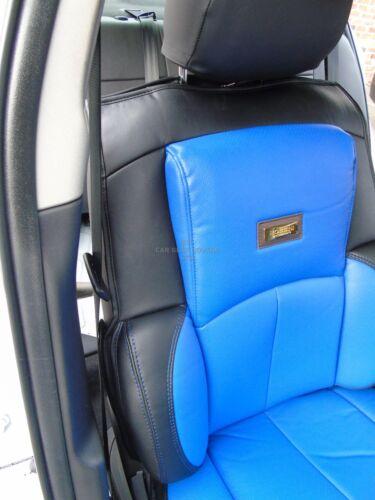 BLUE // BLACK YS02 RECARO SPORTS i SEAT COVERS TO FIT AN AUDI Q5 CAR