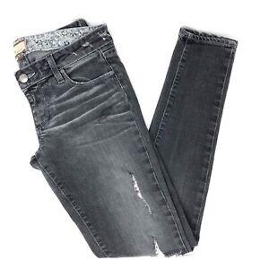 27 Grå Distressed Størrelse Kvinder Paige Jeans Skinny zEHnqO7waw