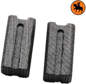 Balais de charbon pour Black /& Decker perceuse KD574CRE 0.24x0.28x0.53/'/'