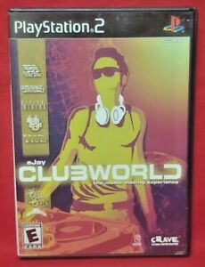Ejay-Clubworld-PS2-Playstation-2-Game-1-Owner-Near-Mint-Disc-Complete