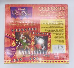 Disney Celebrity Cel Art Painting Set The Hunchback Of Norte Dame Ages 7 RARE