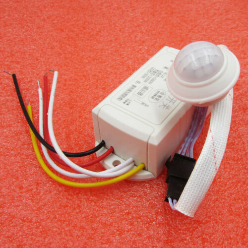 Hot 220V IR Infrared Body Motion Sensor Intelligent Lamp Motion Sensor Switch