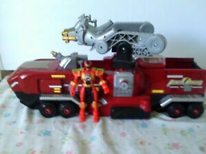 Power Rangers Operation Overdrive Mission Response Vehicle & Ranger Figure Loose