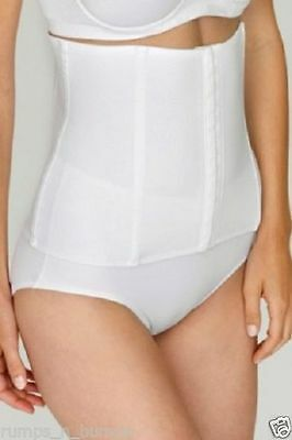 New Miss Mary Of Sweden White Smooth Waist Shaper/clincher 1029 Uk 12-30 In Pain Women's Clothing Clothing, Shoes & Accessories