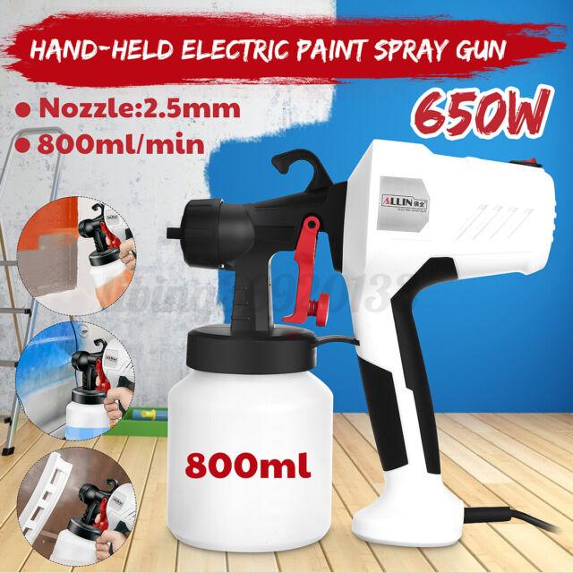 650W 800ML Elektrische Spritzpistole für den Heimgebrauch Latex-Farbsprühgerät