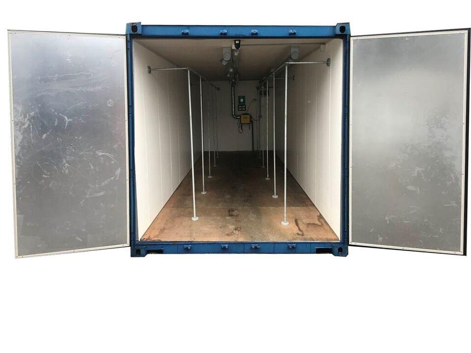 20' isoleret med ventilation – som ny