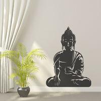 Buddha Yoga OM 'Awakened One' Peace Love Removable Sticker Vinyl Decal Decor