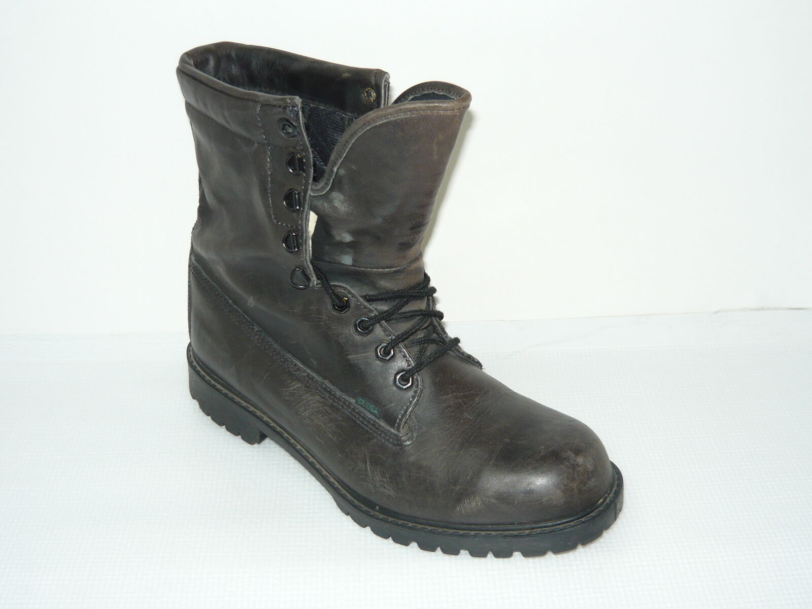 Bates Marble Brown  Men's  Casual Leather Boots Size 9.5