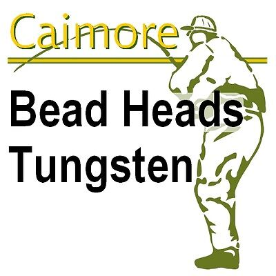 Tungsten Fly Tying Bead Heads Choice of Size and Colour