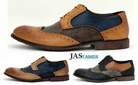 Mens Lace Up Casual Shoes Smart Office Work Fashion Dress Formal Wedding Size