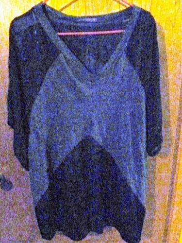 22w Beverly Woman's 20 amp; Size Top Gray Drive Black Knit TvvwdzBqn