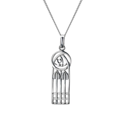 Details about  /Mackintosh Rose Pendant Sterling Silver 925 Hallmarked All Chain Lengths