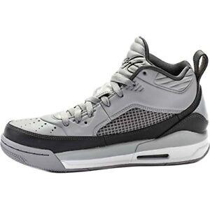 635df95f36fa Jordan Men s Flight 9.5 Shoes NEW AUTHENTIC Wolf Grey White 654262 ...