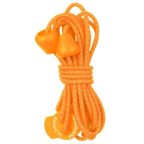 Ultimate Performance Reflektierende Elastische Schnürsenkel Wandern Yoga Orange