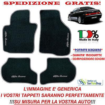 Tappetini Auto Personalizzati Tappeti Alfa Romeo GTV Scegli Colori e Qualità!