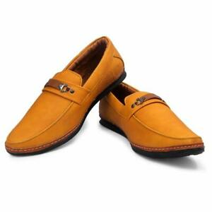 good looking popular stores clearance prices Plane Shiny Loafer Synthetic leather Brown Colour Formal Casual ...