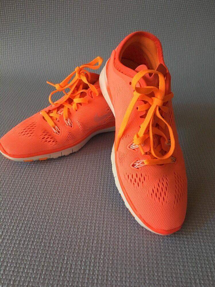 New Nike Nike Nike Free 5.0 TR Fit 5 Brthe Glow Lava Crimson 718932 600 Sz 6 9a768e