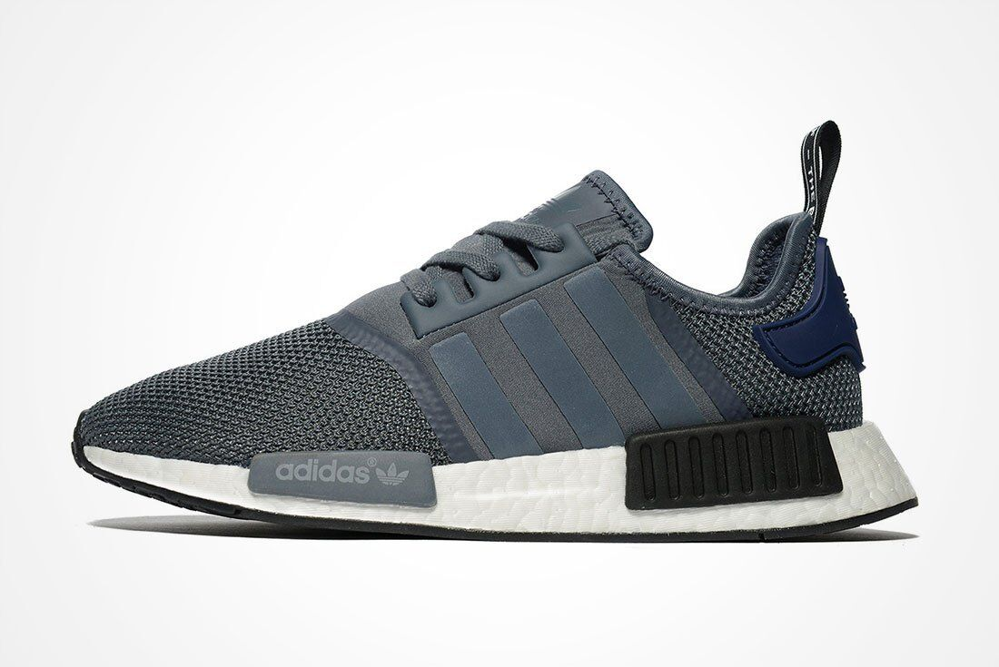 Adidas NMD R1 Clear Grey bluee Size 10. S76842 yeezy ultra boost pk