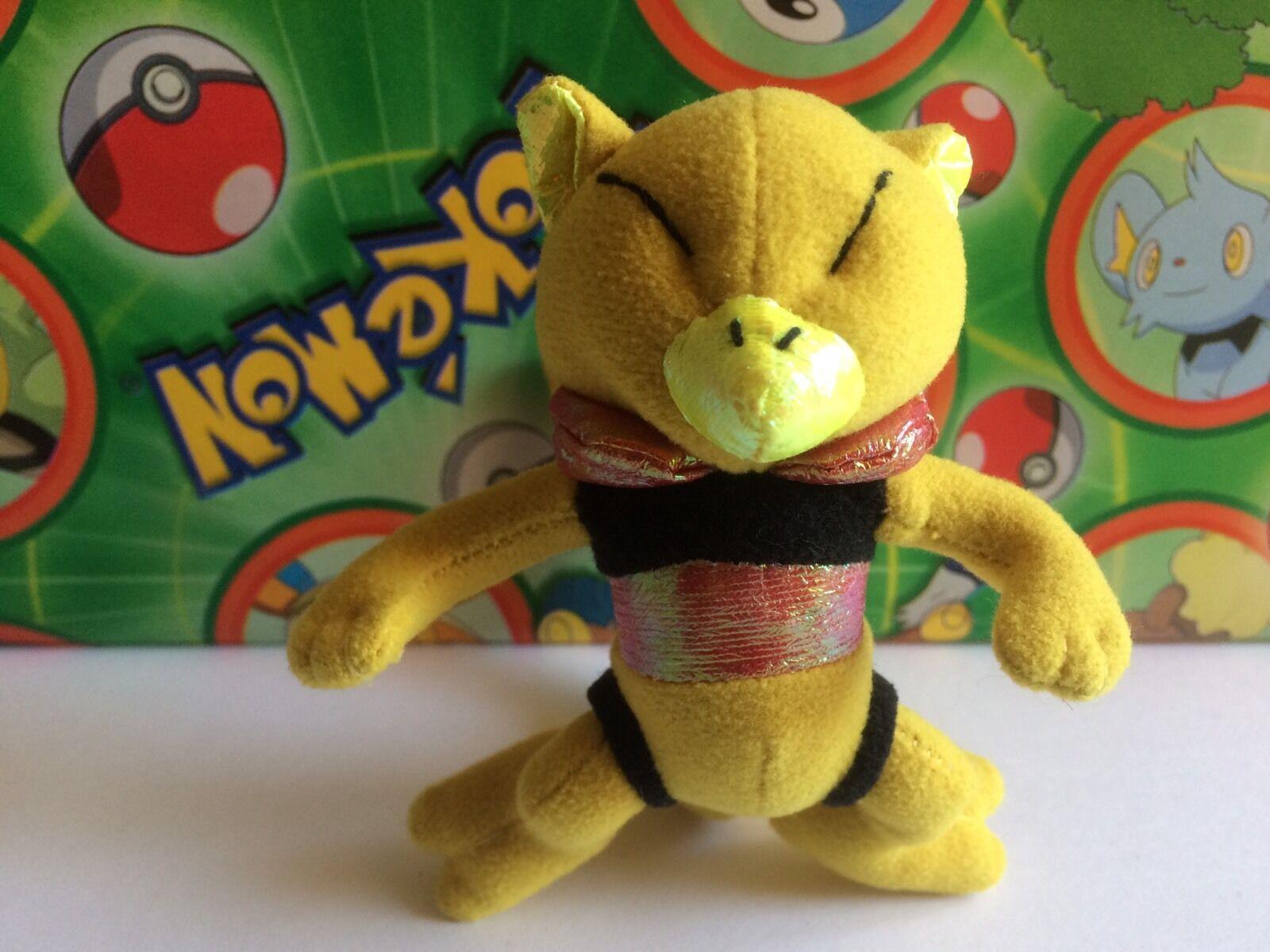 Pokemon Plush Abra Applause 1998 doll figure Stuffed tiere bean bag Spielzeug go