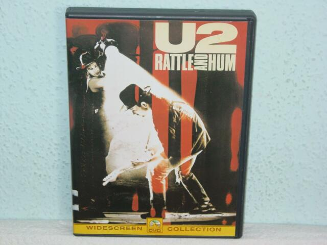 """*****DVD-U2""""RATTLE AND HUM""""-2001 Paramount Pictures*****"""