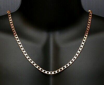 environ 35.56 cm Diamond Cut Câble Pendentif Chaîne Collier Nouveau 14K Or Jaune .6 MM 14 IN