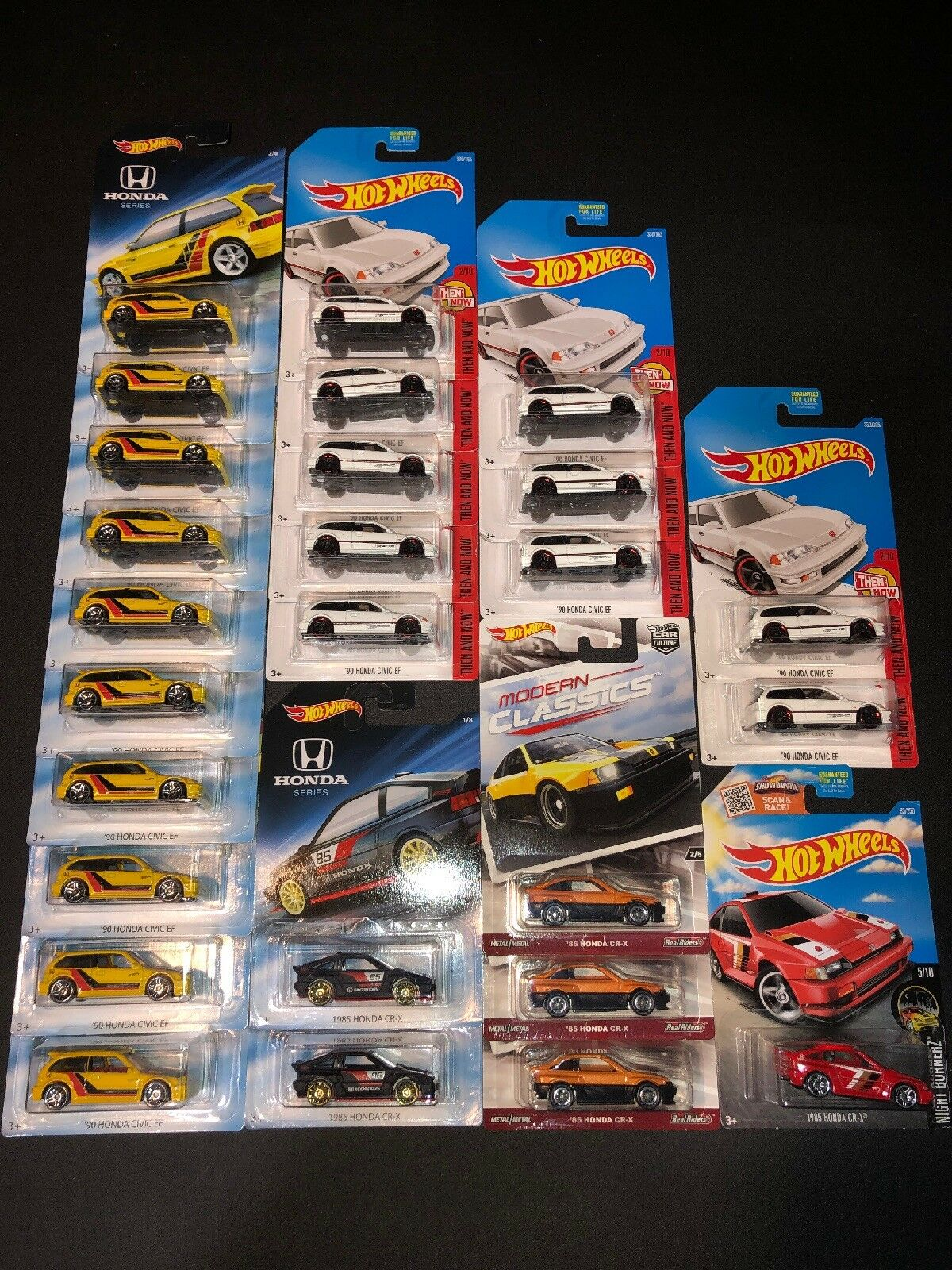 Hot Wheels Honda Lot Of Of Of 26 Cars. Modern Classics CR-X, Honda Series, EF. 26 Cars e285bf