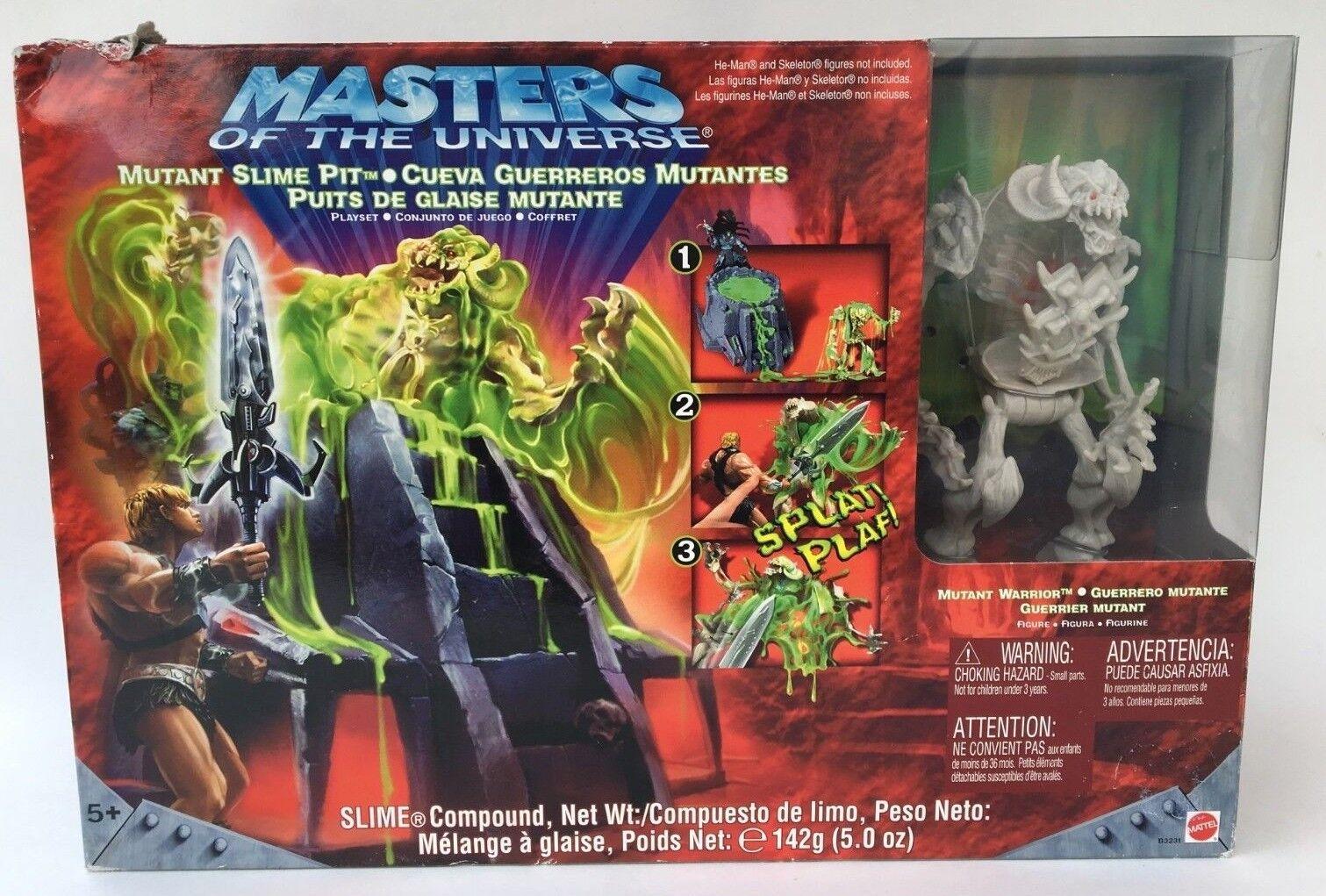 Meister des universums - schleim grube mattel 2003 nib