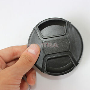 Firm-77mm-Center-Pinch-Snap-on-Front-Cover-Cap-For-Camera-Lens-Filter-KH
